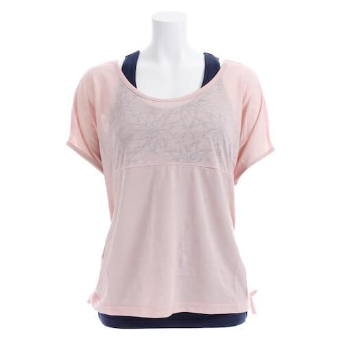 ROXY(ロキシー)FIVE RAYS 速乾タンク付きTシャツ