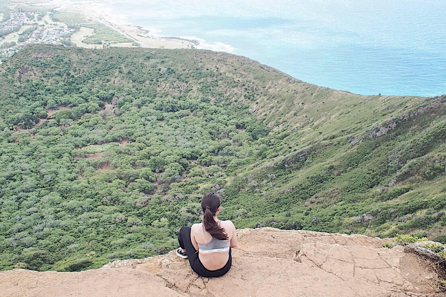 ハワイへの旅のイメージ画像