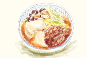 肉豆腐のイラスト