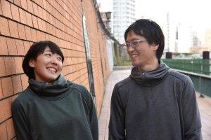 寺田明日香選手と夫・佐藤峻一さんの写真
