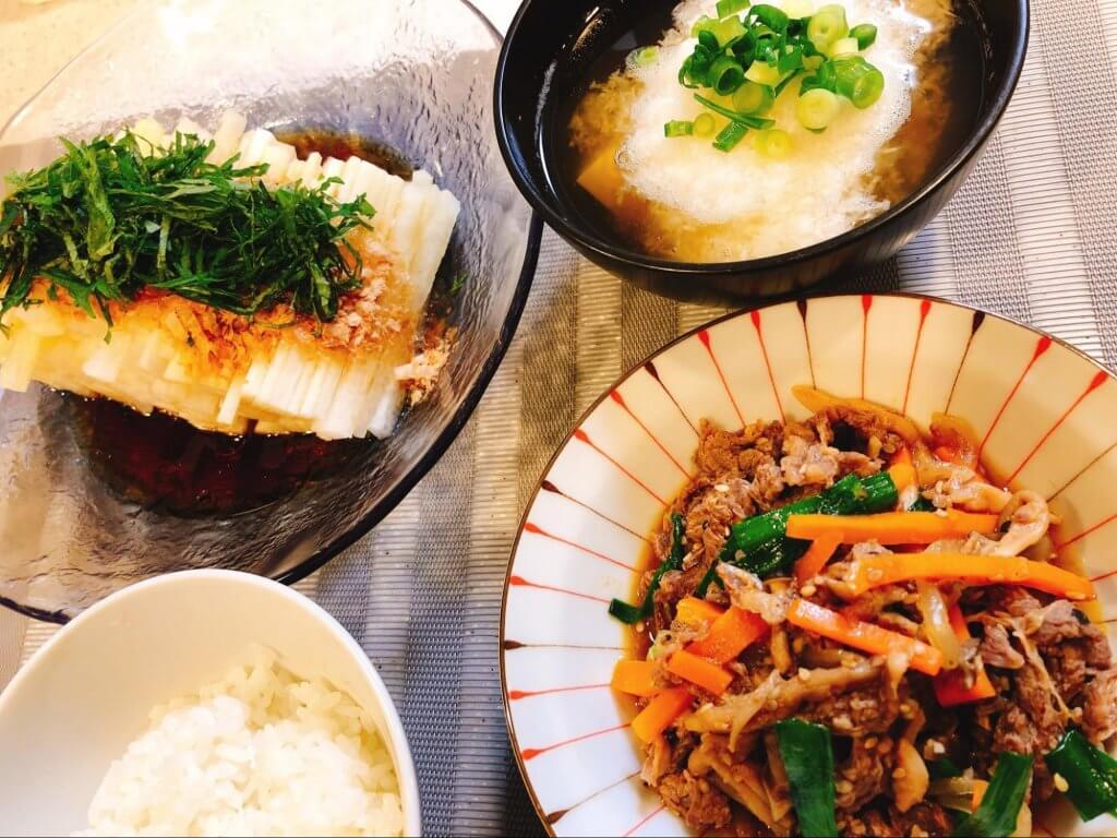 佐野千晃さんが作った料理の写真