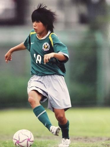 荒鷲FCのキャプテン・松本朋子さんのインタビューに関する写真