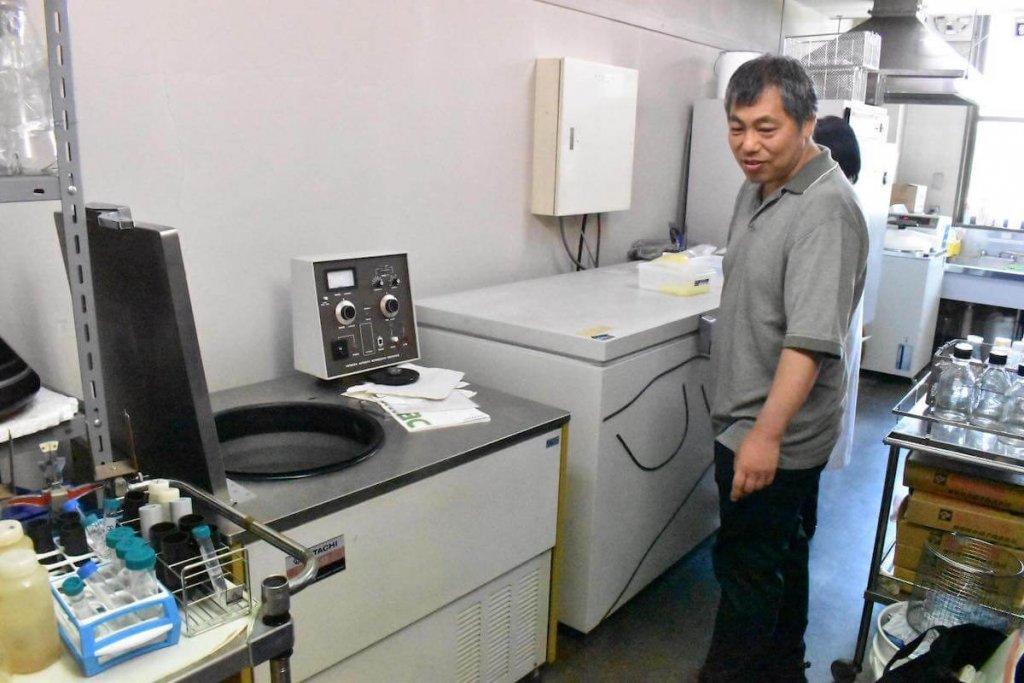 AuBと共同研究する香川大の画像