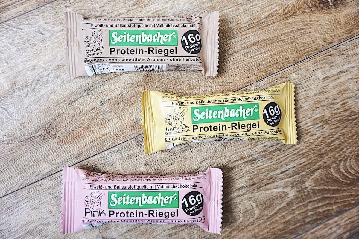グルテンフリーのプロテインバー「Seitenbacher」の写真