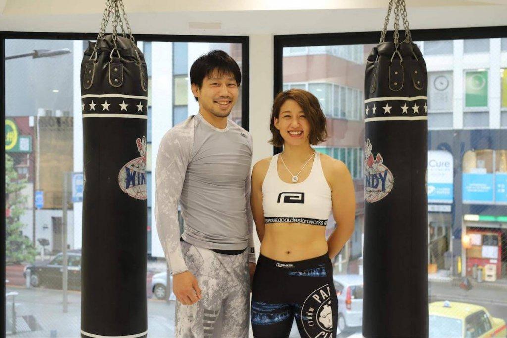K太郎さんと杉山しずかさんの画像