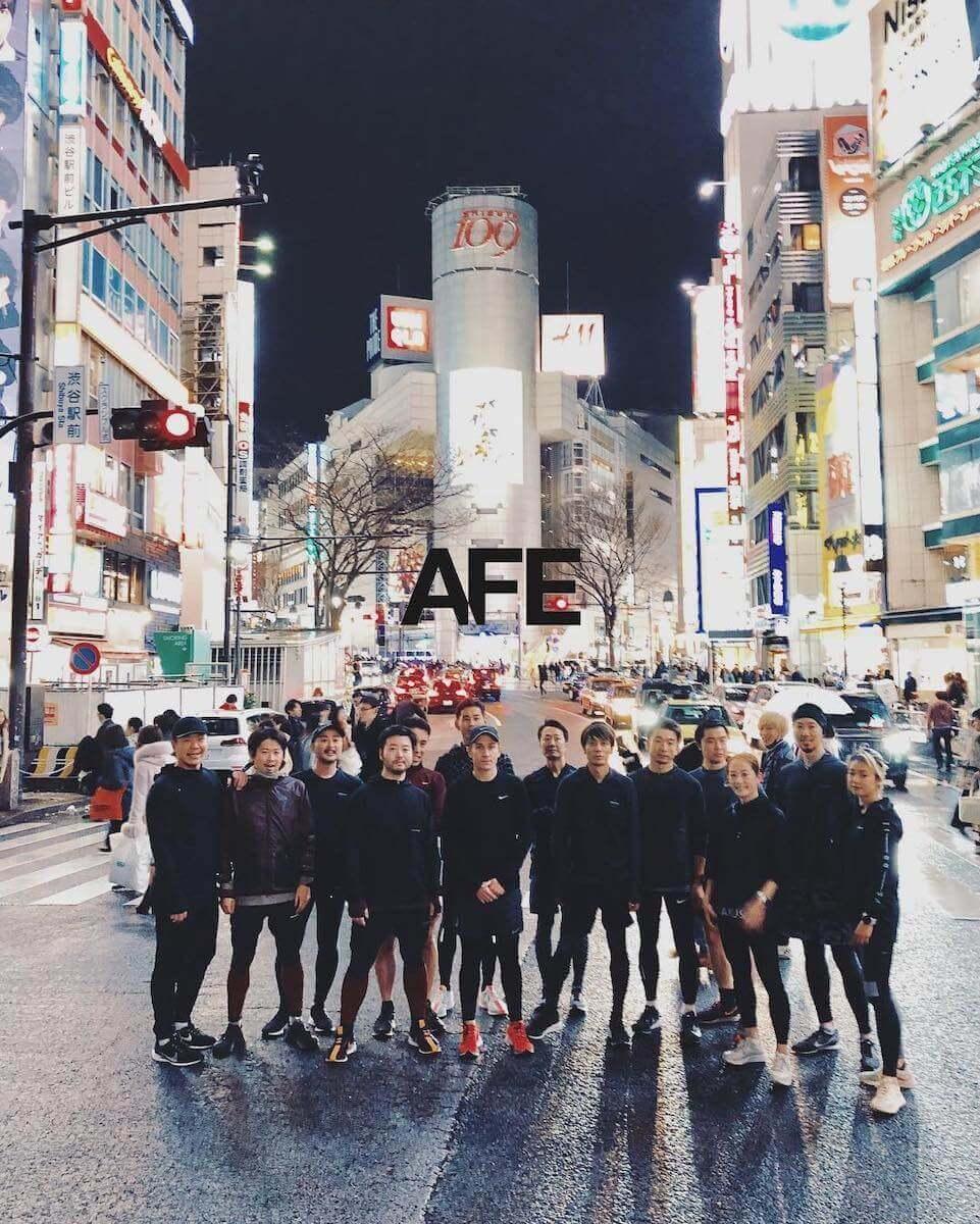 吉田麻衣子さんとAFEの仲間の写真