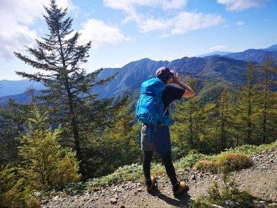 そこそこ登山女子の登山クエスト⑤雲取山×OSPLEYのザック