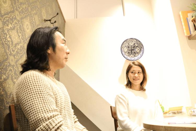 大山俊輔さんと吉林千景さんの写真