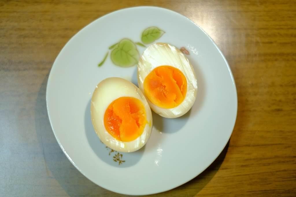 味付け卵の写真