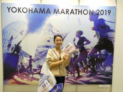 横浜マラソンEXPOの楽しみ方。大会前の吉田麻衣子さんとブースめぐり