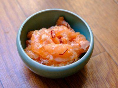 サーモンの塩こうじ漬けーさくっとトレご飯・発酵編ー