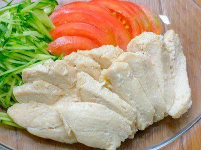 鶏むね肉の塩こうじ蒸しーさくっとトレご飯・発酵編ー