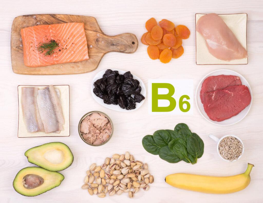 ビタミンB6を含む食材の写真