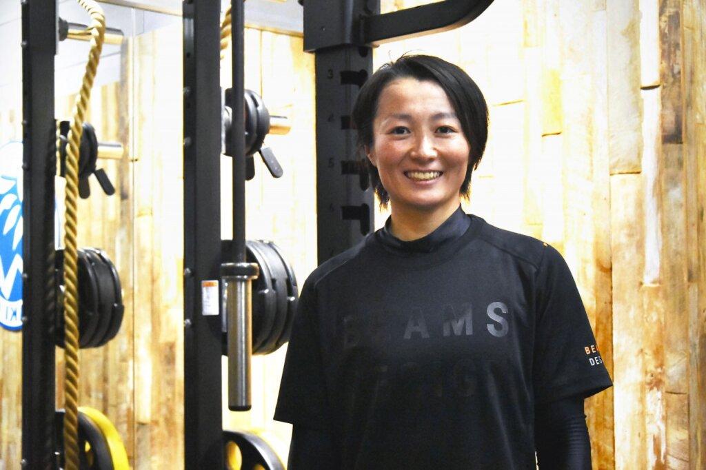 山崎まり選手