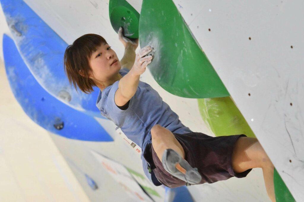 加島智子選手の写真