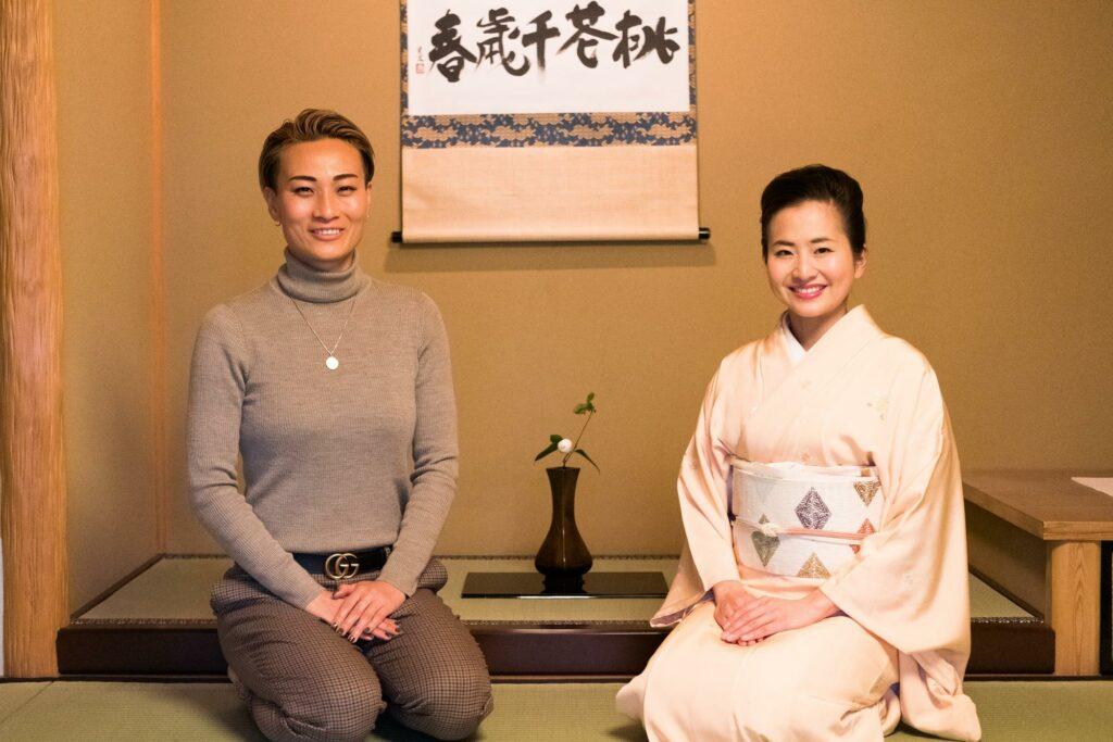 YUIさんと小堀宗翔さんの写真