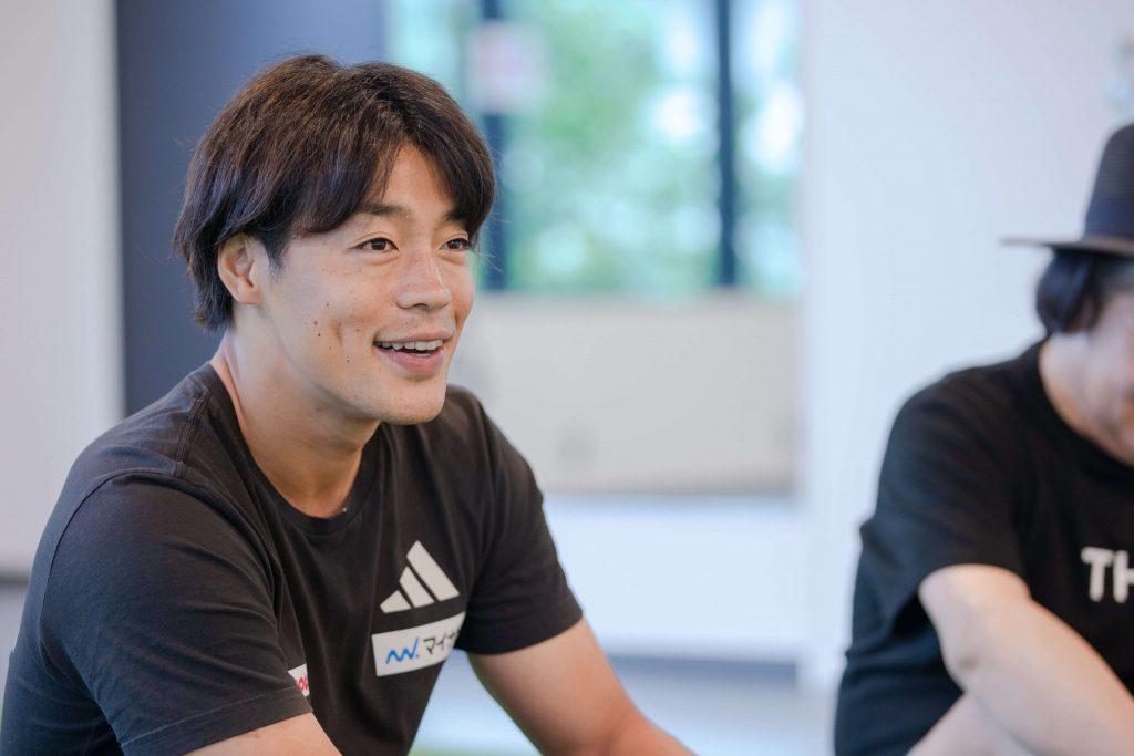 羽根田卓也選手の写真