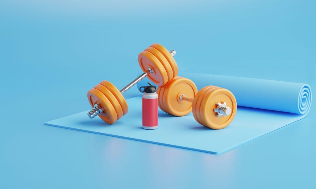 トレーニング器具の写真