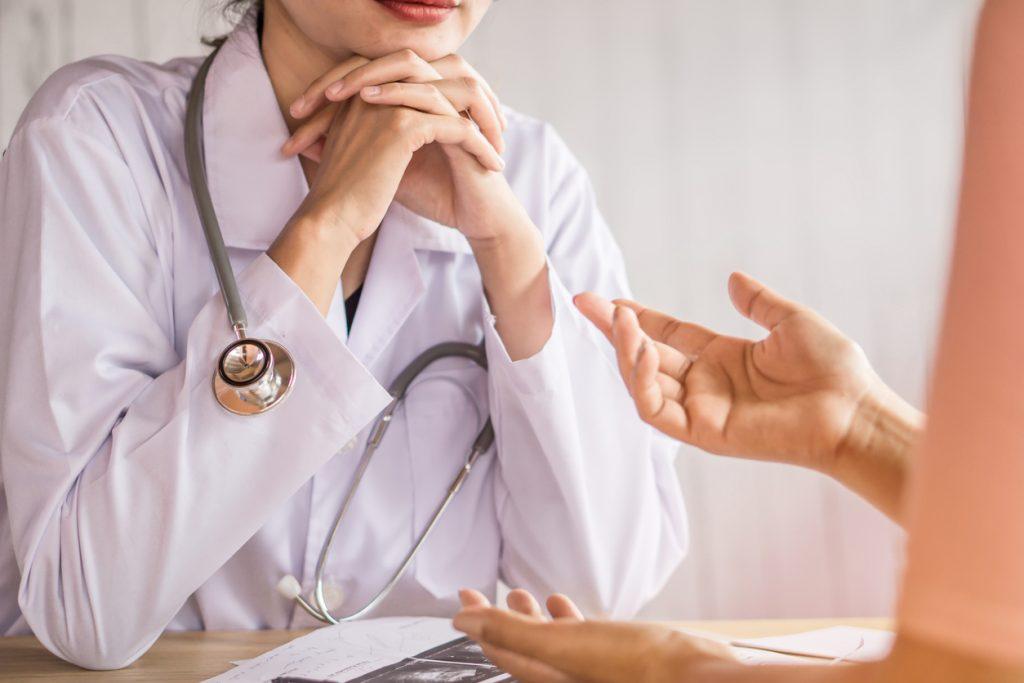女性医師の写真