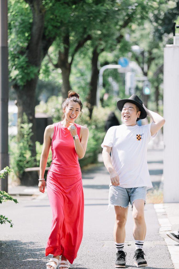 野沢和香さんとしげるちゃんの写真